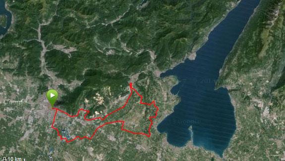 mappa 12 ottobre – Brescia – Castenedolo – Padenghe — Soiano – Gavardo – Brescia