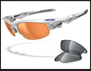 Okley sunglasses with polarized lens